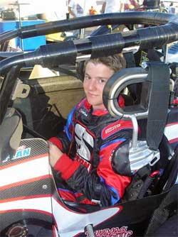 K&N Sponsored Wingless Sprint Car Racer Ryan Kaplan