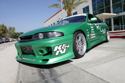 Ben recently stopped by K&N headquarters to show us his rare 1995 Nissan Skyline R33 with right hand drive. He was passing through on his way to the Qualcomm Extreme Autofest Show in San Diego on July 29, 2012.