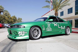 The R33 was Shane Therrien second complete restoration.