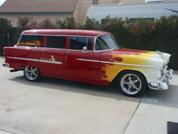 It all first started in 1991 for Ben with Red Lion Hot Rod and dazzling restoration work such as this sweet ride.