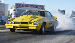 The 1980 Chevy Camero sponsored by Red Lion Motorsports experienced its share of success last season
