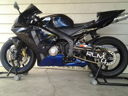 Red Lion Motorsports also has an interest in cycles, and in turn sponsors this 2003 Honda CBR 600-RR.