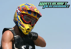 Rob Flores earned national titles in both Pro Stock Ski and Pro Ski GP classes in the Hydro-Turf UWP-IJSBA Watercross National Tour.