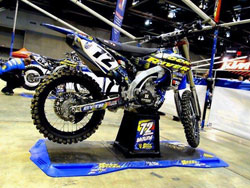 Jarred Browne's K&N supported bike was ready to go and once the nagging injuries heal, so will be Browne. Photo by Vurbmoto.