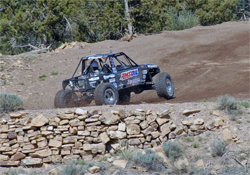 CHCA finish line for Hill Climb competitor Brad Lovell, photo by Jud Leslie