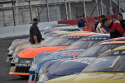 Drivers representing several states, as well as British Columbia, Canada, race in the Rocky Mountain Challenge Series.
