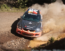 K&N products survive mud, dust, water and rocks on Team ACP's 2007 NOS Energy Mitsubishi Lancer Evolution IX