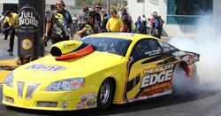 The Racers Edge Pontiac GTO and Rodger Brogdon