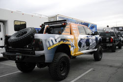 Rock & Roll Offroad's 2011 Dodge Ram 6.7 liter diesel display vehicle for SEMA 2012