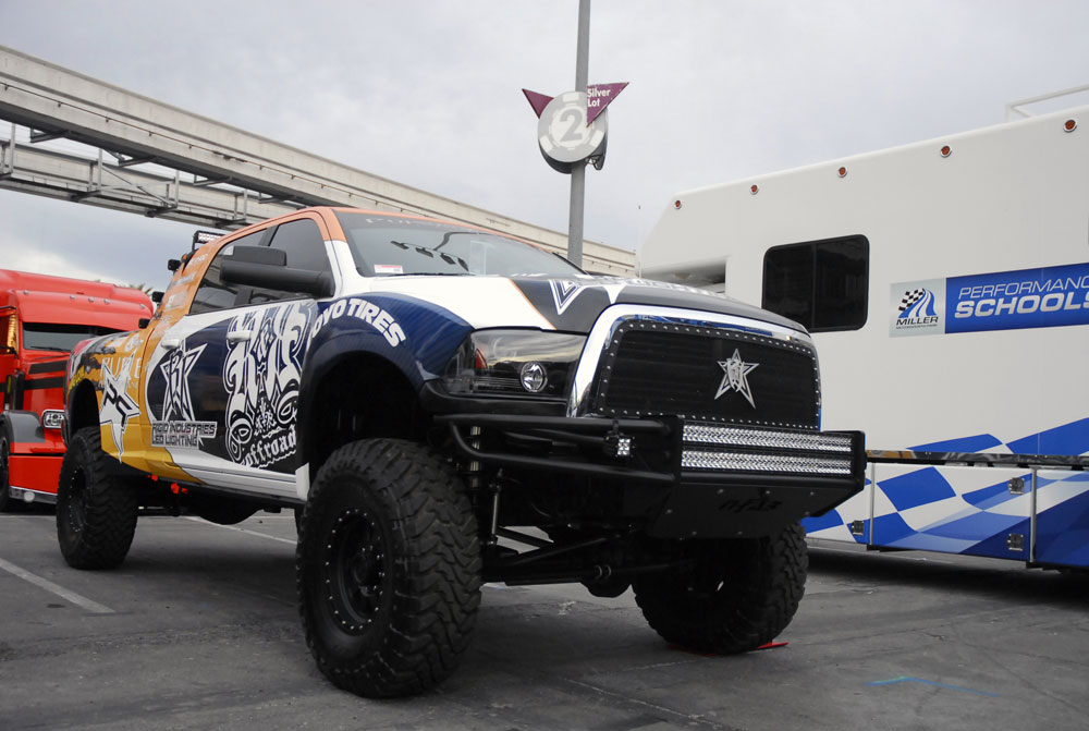 Lifted Ram 3500 >> Rock & Roll Offroad Brings a Monster 2011 Dodge Ram 6.7 ...