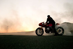 Roland Sands' Project 90 focused on aesthetics as well as performance.
