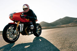 """Roland Sands and representatives of BMW completed project 90 in only four months, producing a bike that """"embodies the ideas of the original while pushing toward the future."""""""