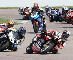 AMA Daytona SportBike Race at Heartland Park Topeka