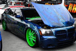 Rudy and Sonia Lopez's 2007 Dodge Magnum at SEMA