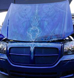 Dodge Magnum at SEMA amazing custom exterior paint