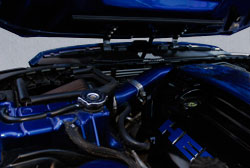 Modified Dodge Magnum with K&N air intake system at SEMA