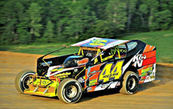 Northeast Dirt Modified racer Russ Morseman has dominated 14 heat races to date and is currently 4th in points.