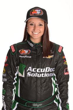 NASCAR K&N Pro Series East racer Kenzie Ruston