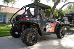 2009 Polaris Ranger RZR-s at SEMA