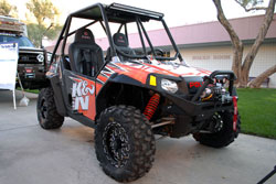 2011 SEMA event featured Ryan Fellman's 2009 Polaris Ranger RZR-s