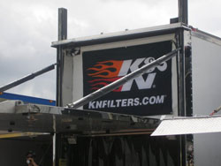 Ryan Hackett Racing is a big supporter of K&N Products