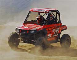 2008 Polaris Ranger RZR 800 gets an addtional boost in horsepower with K&N performance intake kit