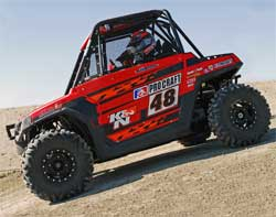 2008 Polars Ranger RZR 800 with new K&N performance air intake system