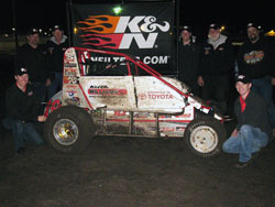 TK Motorsports is proud of the season opening win in Chico, for themselves and K&N.