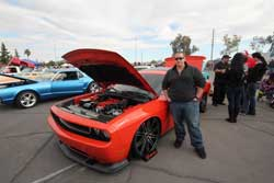 Sal Danley and his 2010 Dodge Challenger