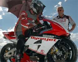 Rookie Dusty Schaller of Team FL set record of Honda CBR 600 RR