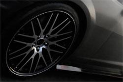 2010 Camaro SS sporting 22 Inch Savini Black Di Forza BM-4 Wheels at SEMA