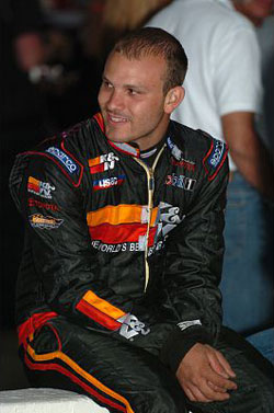 Bobby Santos was the only driver to win in all three USAC National Series in 2009