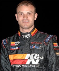 Bobby Santos made history at Irwindale Speedway on Turkey Night in 2007 driving the first Sprint car with Toyota horsepower and K&N filters