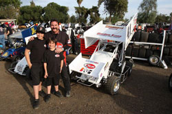 Portrait of a family racing destiny for years to come, Dominic, Giovanni and Gary Scelzi