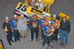 Donny Schatz and some of the ParkerStore Team
