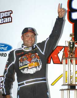 World of Outlaws Points Leader Donny Schatz