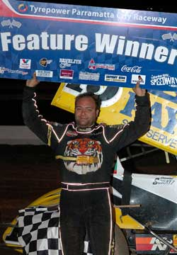 World of Outlaws Champion Donny Schatz