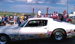 Scott has been competing in Stock Eliminator since 1998, his 1971 Pontiac Formula Firebird continues to get-it-done thanks in part to solid car preparation and using K&N products.