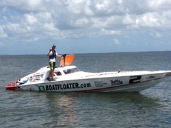 The father/son team of Scott Free Racing recently took a victory at the hometown of Sarasota, Florida.