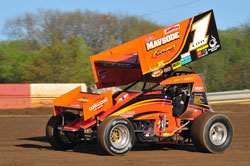 For the 2010 campaign Pursell will be driving his own orange number one car.