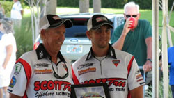 The highly successful father and son team are the leading contenders for another World Championship in Key West