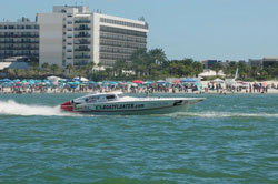 Despite a trim tab problem at the Florida Championships Scott Free Racing still managed to finish in 2nd place
