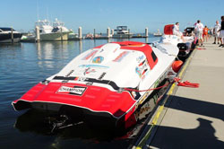 The Scott Free Racing team has opted for a rough water setup heading into Key West