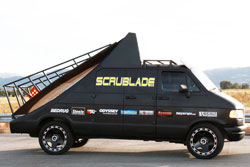 Scrublade 2001 Dodge Van B350