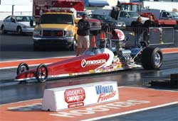 Slate Cummings Moser Engineering backed Dragster