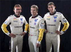Corvette Racing No.4 C6.R Drivers Olivier Beretta, Marcel Fassler and Oliver Gavin