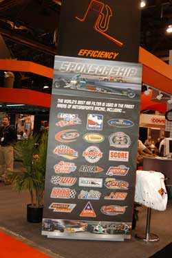 K&N Engineering booth at SEMA 2005