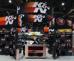 K&N SEMA 2011 Booth