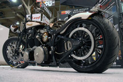 "K&N SEMA Vehicle - Roland Sands custom built bike ""El Borracho"""