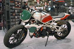 K&N SEMA Vehicle - Roland Sands flat track Desmosedici Ducati